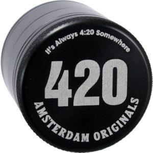Aluminium Grinder van 420 Amsterdam Originals