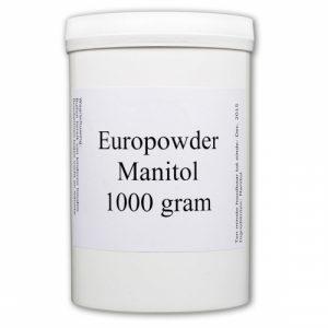 Europowder Manitol in een potje