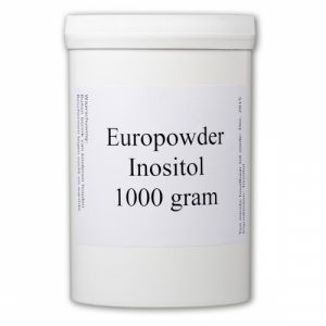 Europowder Inositol in een potje