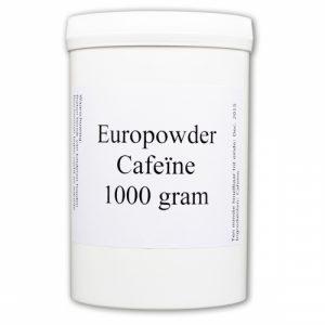 Europowder Cafeïne in een potje
